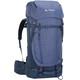 VAUDE Astrum EVO 55+10 Plecak Kobiety niebieski